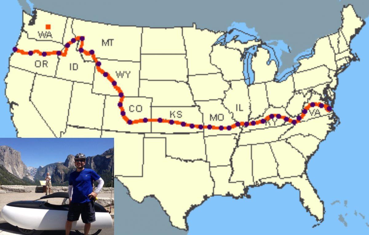 Week 2 Biggs Junction Oregon To Kooskia Idaho Before Whom I Ride